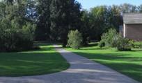 Glorup sti i parken